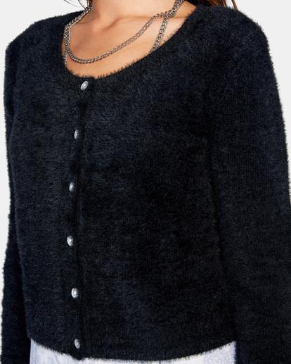2 Clueless Cardigan Sweater White AVJSW00125 RVCA