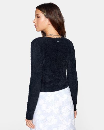 5 Clueless Cardigan Sweater White AVJSW00125 RVCA