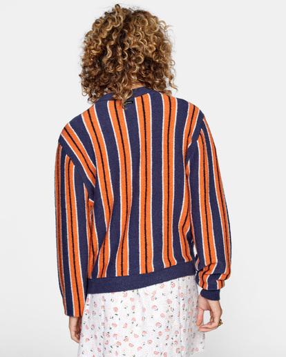 2 Never Better Knit Sweater Blue AVJSW00127 RVCA