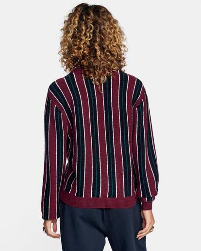 3 Never Better Knit Sweater Green AVJSW00127 RVCA