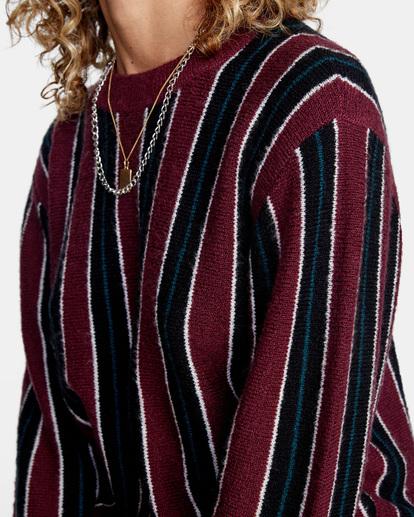 4 Never Better Knit Sweater Green AVJSW00127 RVCA