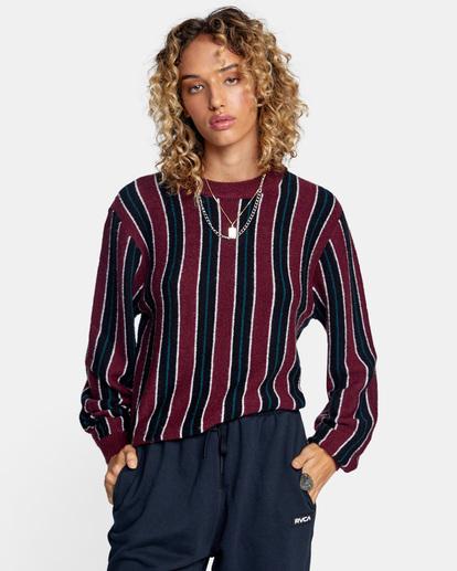 2 Never Better Knit Sweater Green AVJSW00127 RVCA