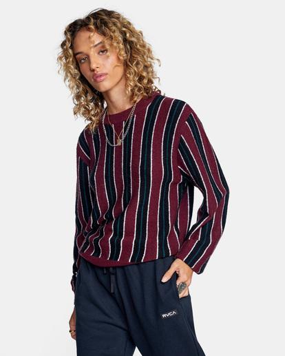 6 Never Better Knit Sweater Green AVJSW00127 RVCA