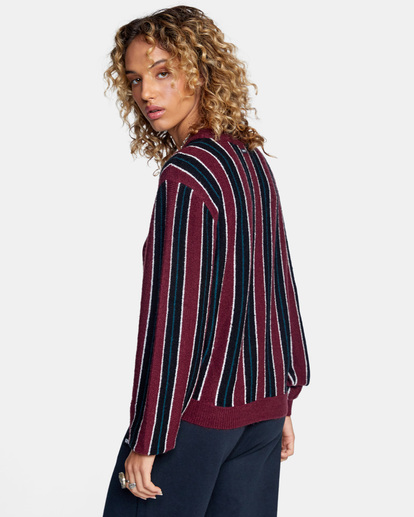 7 Never Better Knit Sweater Green AVJSW00127 RVCA