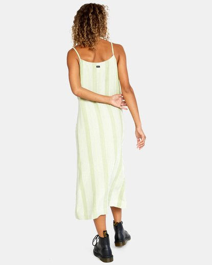 2 Shadow Dress Green AVJWD00163 RVCA