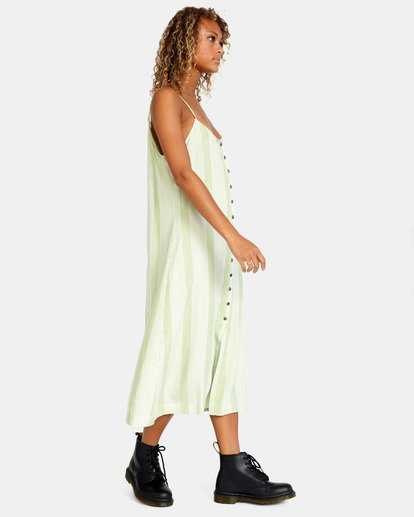4 Shadow Dress Green AVJWD00163 RVCA