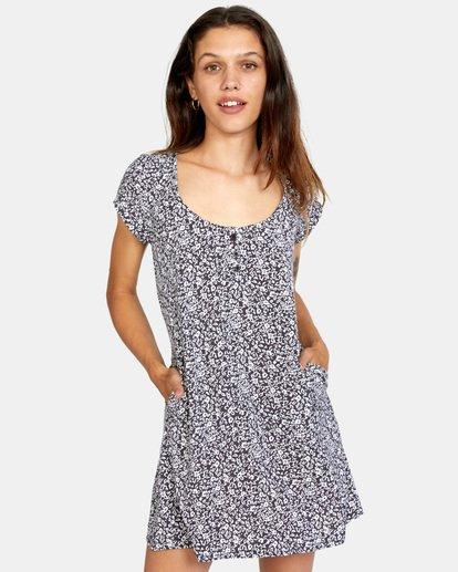 0 Peak It Dress Grey AVJWD00167 RVCA