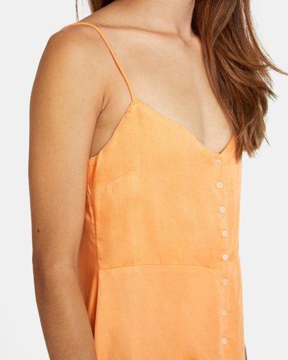 4 Out There Dress Orange AVJWD00168 RVCA