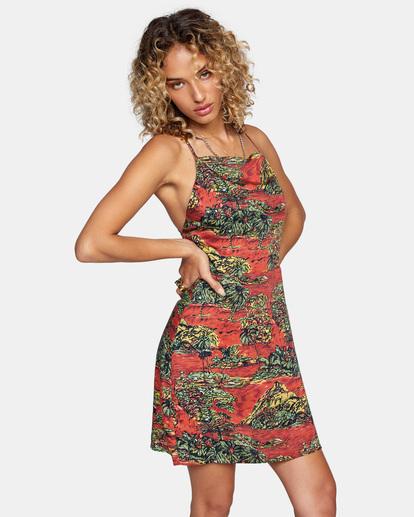 4 All Feels Tank Dress Multicolor AVJWD00172 RVCA