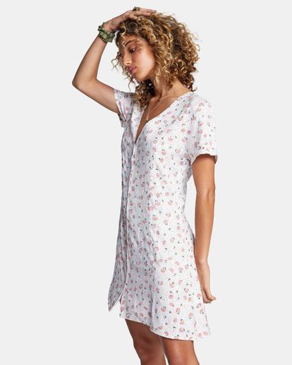 4 Once More Mini Dress White AVJWD00174 RVCA