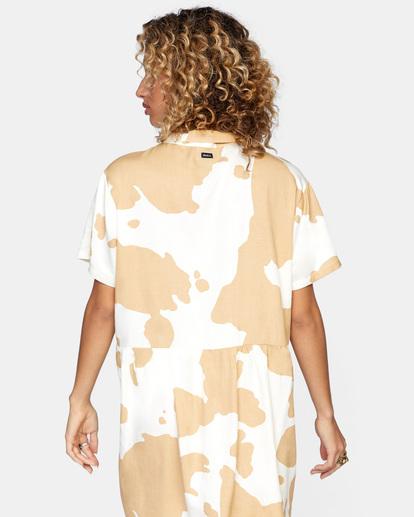 1 Southbound Mini Dress Beige AVJWD00177 RVCA