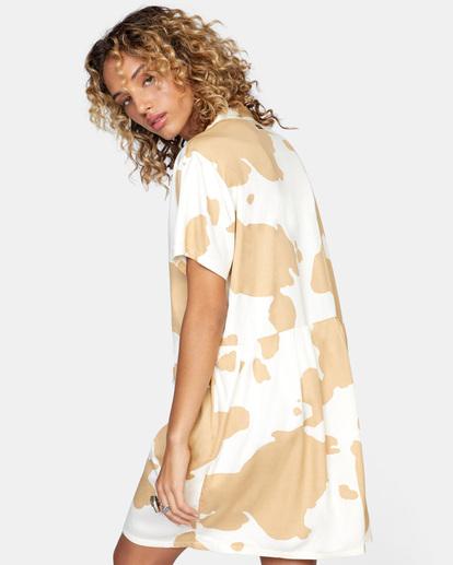 6 Southbound Mini Dress Beige AVJWD00177 RVCA