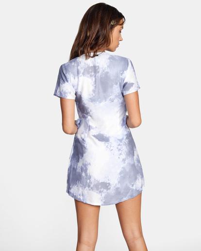 1 Skyline Wrap Dress White AVJWD00180 RVCA