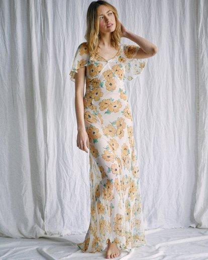 3 Camille Rowe   Lolo Maxi Dress Grey AVJWD00187 RVCA