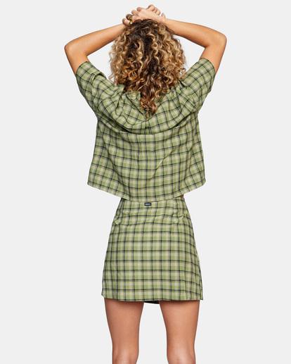 2 Going Out Mini Skirt Green AVJWK00104 RVCA