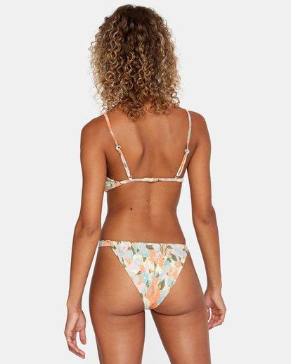 2 On The Road Printed Multi-Way Trilette Bikini Top Brown AVJX300164 RVCA