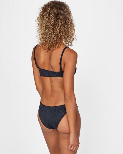 1 Run Wild Printed Removable Strap Bandeau Bikini Top White AVJX300171 RVCA