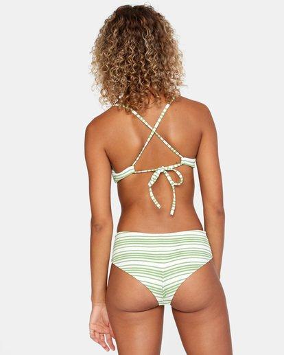 2 Ziggy Crossback Bikini Top White AVJX300179 RVCA