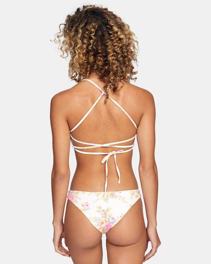 1 Mary Printed Crossback Bikini Top White AVJX300215 RVCA