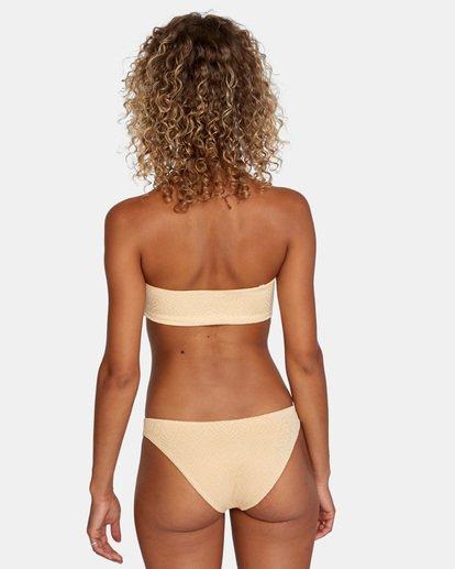 0 Run Wild Printed Low-Rise Medium Coverage Bikini Bottom Red AVJX400167 RVCA