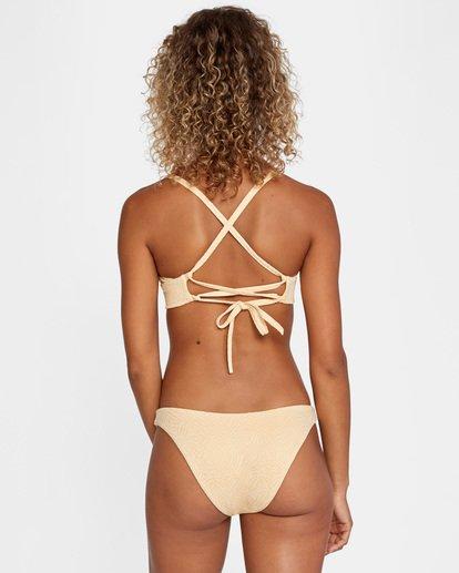 0 Run Wild Printed Mid-Rise French Bikini Bottom Red AVJX400169 RVCA