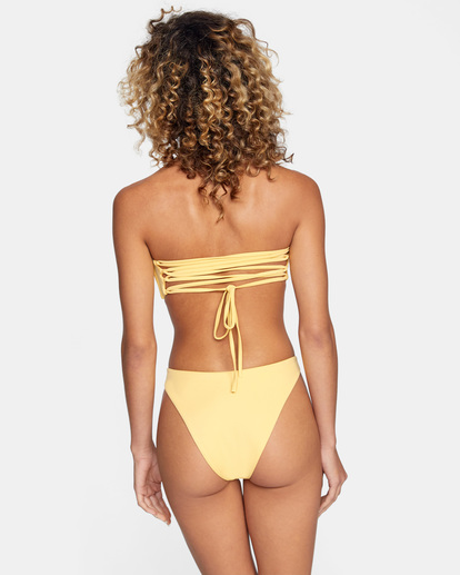 0 Solid Cheeky French Bikini Bottom White AVJX400190 RVCA