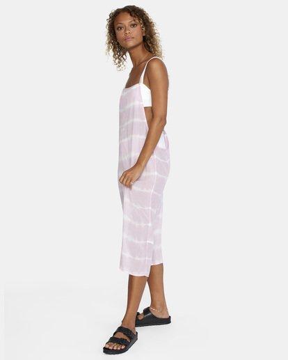 11 Island Hopper Tie-Dye Dress Purple AVJX600107 RVCA
