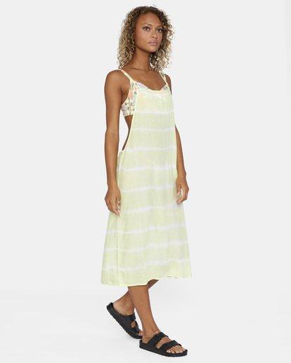 8 Island Hopper Tie-Dye Dress Green AVJX600107 RVCA