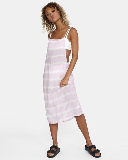 4 Island Hopper Tie-Dye Dress Purple AVJX600107 RVCA