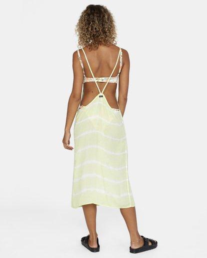 1 Island Hopper Tie-Dye Dress Green AVJX600107 RVCA