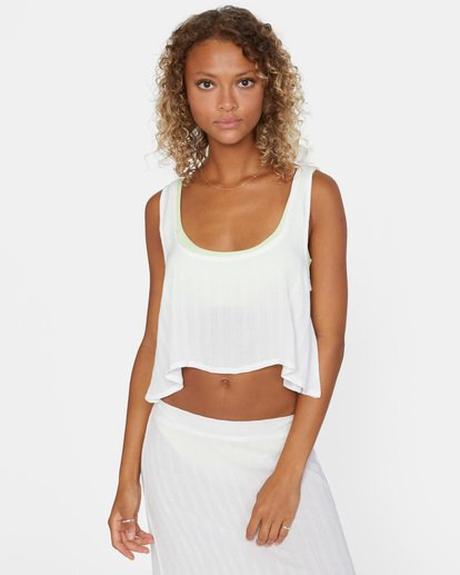 2 After Hours Solid Top White AVJX600113 RVCA
