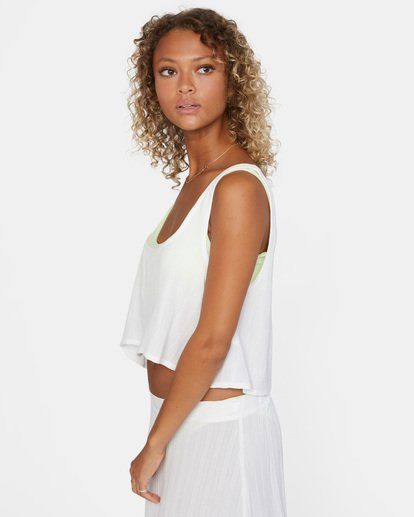 5 After Hours Solid Top White AVJX600113 RVCA