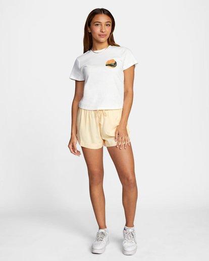 4 Dana Trippe Dana Hues Short Sleeve Tee White AVJZT00257 RVCA