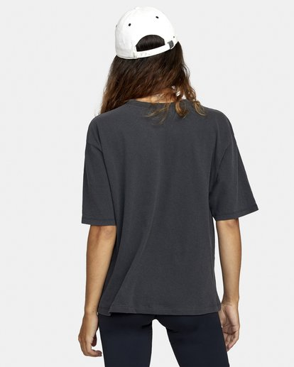 1 Framed Short Sleeve Tee Black AVJZT00270 RVCA