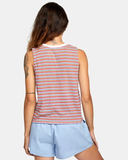 2 Constructed Tank Top White AVJZT00274 RVCA