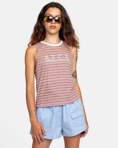 1 Constructed Tank Top White AVJZT00274 RVCA