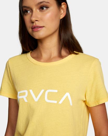 2 Big RVCA Tee White AVJZT00315 RVCA