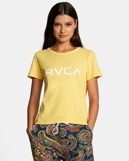 0 Big RVCA Tee White AVJZT00315 RVCA