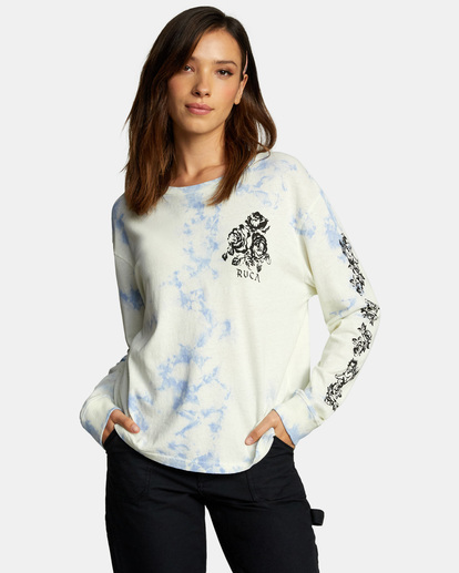 0 The Good And Bad Long Sleeve Tee Brown AVJZT00329 RVCA