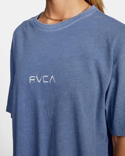 2 Little RVCA Anyday Tee Blue AVJZT00332 RVCA