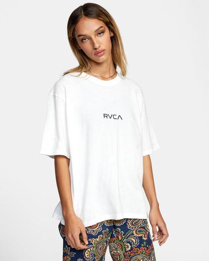 6 Little RVCA Anyday Tee White AVJZT00332 RVCA