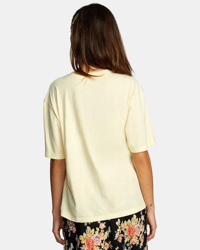 1 Soft Hand Anyday Tee Yellow AVJZT00335 RVCA