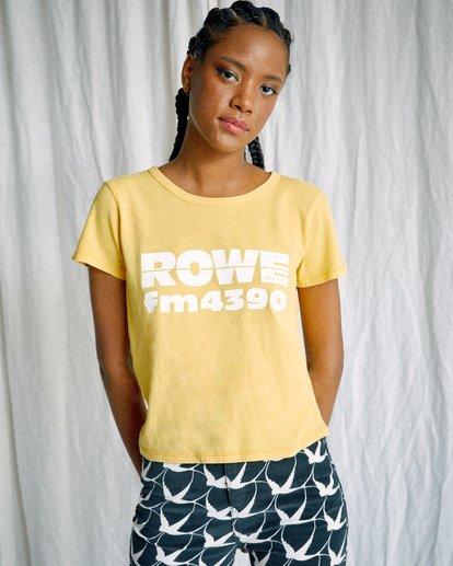 0 Camille Rowe   FM 4390 T-Shirt White AVJZT00347 RVCA