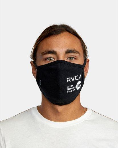1 RVCA Face Mask Black AVYAA00119 RVCA