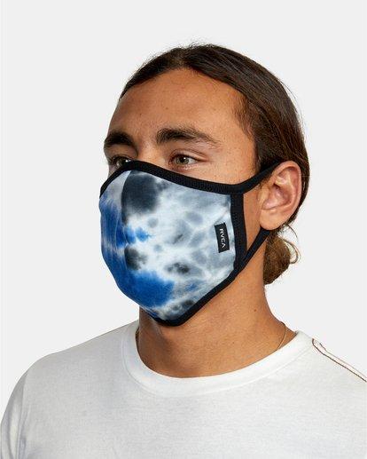 2 RVCA Tie-Dye Mask Blue AVYAA00148 RVCA