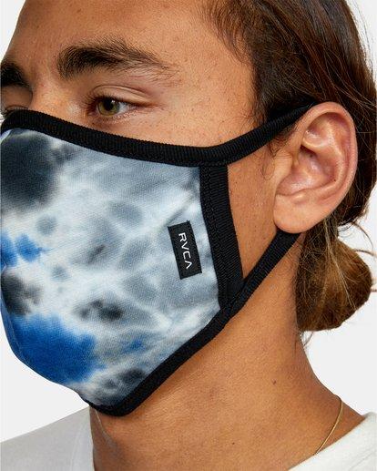 3 RVCA Tie-Dye Mask Blue AVYAA00148 RVCA