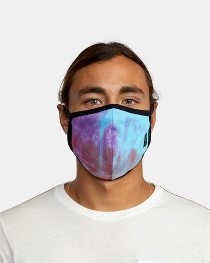 1 RVCA Tie-Dye Mask White AVYAA00148 RVCA