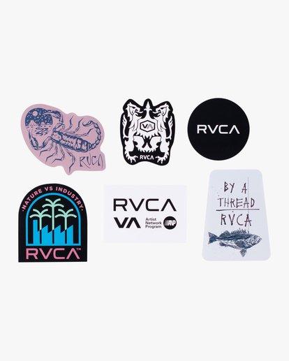 1 ANP Sticker 6 Pack I Grey AVYAA00159 RVCA