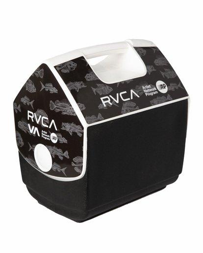 3 RVCA X PLAYMATE 7QT ANP COOLER Black AVYAA00208 RVCA