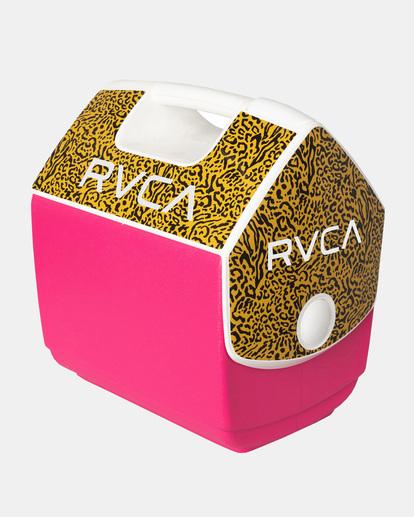 0 RVCA X PLAYMATE PAL 7QT COOLER Pink AVYAA00209 RVCA